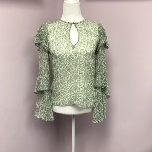 H&M Sheer Blouse Size 2